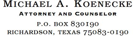 P.O. Box 830190, Richardson TX 75083-0190